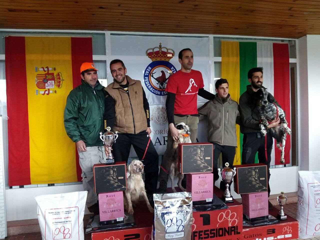 Campeon España 2014 - Podium  Miguel Angel